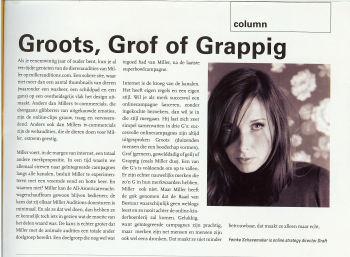 Column in Reclameweek, 5 juni 2006